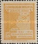 [Airmail Stamps - Panagra Airways, The 10th Anniversary of the First La Paz-Tacna Flight, type EK1]