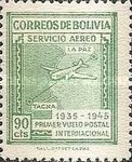 [Airmail Stamps - Panagra Airways, The 10th Anniversary of the First La Paz-Tacna Flight, type EK2]