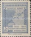 [Airmail Stamps - Panagra Airways, The 10th Anniversary of the First La Paz-Tacna Flight, type EK3]