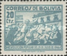 [Popular Revolution of 21 July 1946, type EP]