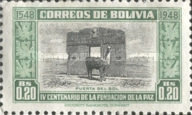 [The 400th Anniversary of the Founding of La Paz, type FN]