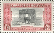 [Airmail - The 400th Anniversary of the Founding of La Paz, type FN1]