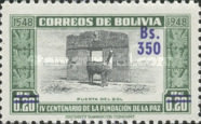 [Currency Revaluation - Founding of La Paz stamps of 1951 Surcharged, Typ FN2]