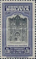 [Airmail - The 400th Anniversary of the Founding of La Paz, Typ FO1]