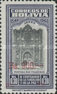 [Airmail - Currency Revaluation - Founding of La Paz stamps of 1951 Surcharged, Typ FO3]