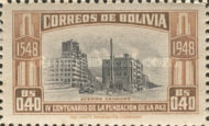 [The 400th Anniversary of the Founding of La Paz, type FP]