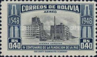 [Airmail - The 400th Anniversary of the Founding of La Paz, type FP1]