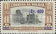 [Currency Revaluation - Founding of La Paz stamps of 1951 Surcharged, Typ FP2]