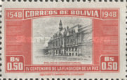 [The 400th Anniversary of the Founding of La Paz, type FR]