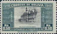 [Airmail - The 400th Anniversary of the Founding of La Paz, type FR1]