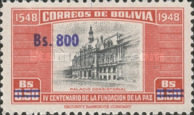 [Currency Revaluation - Founding of La Paz stamps of 1951 Surcharged, Typ FR2]