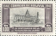 [The 400th Anniversary of the Founding of La Paz, type FS]