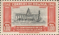 [Airmail - The 400th Anniversary of the Founding of La Paz, type FS1]