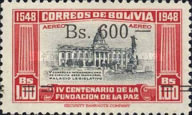 [Airmail - Currency Revaluation - Founding of La Paz stamps of 1951 Surcharged, Typ FS3]