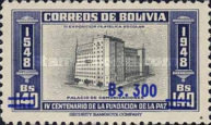 [Currency Revaluation - Founding of La Paz stamps of 1951 Surcharged, Typ FT2]