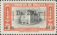 [Airmail - Currency Revaluation - Founding of La Paz stamps of 1951 Surcharged, Typ FT3]