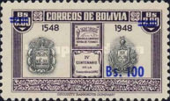 [Currency Revaluation - Founding of La Paz stamps of 1951 Surcharged, Typ FU2]