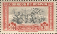 [The 400th Anniversary of the Founding of La Paz, type FW]