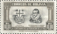 [The 400th Anniversary of the Founding of La Paz, type FX]