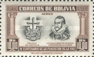 [Airmail - The 400th Anniversary of the Founding of La Paz, type FX1]