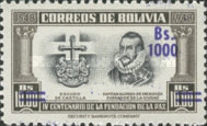 [Currency Revaluation - Founding of La Paz stamps of 1951 Surcharged, Typ FX2]