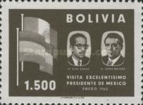 [Visit of the Mexican President to Bolivia, type IF2]
