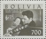 [Airmail - Jaime Laredo Commemoration, type IN1]