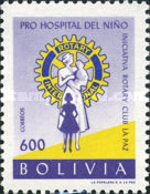 [Founding of Children's Hospital by La Paz Rotary Club, type IO2]