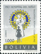 [Founding of Children's Hospital by La Paz Rotary Club, type IO3]