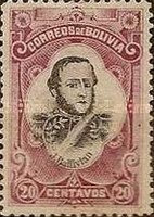 [People of the Bolivian History, type J]