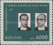 [Airmail Stamps - Visit of Argentinian President Frondizi, Typ KM]