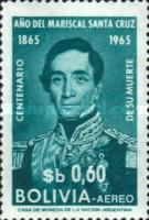 [Airmail - The 100th Anniversary of the Death of Marshal Santa Cruz, Typ MD1]