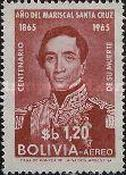 [Airmail - The 100th Anniversary of the Death of Marshal Santa Cruz, Typ MD2]