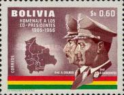 [Airmail - Co-Presidents Commemoration, Generals Barrientos and Ovando, Typ MG]