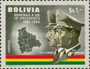 [Airmail - Co-Presidents Commemoration, Generals Barrientos and Ovando, Typ MG1]