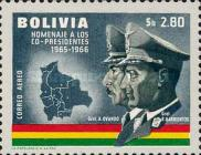[Airmail - Co-Presidents Commemoration, Generals Barrientos and Ovando, Typ MG2]