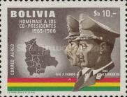 [Airmail - Co-Presidents Commemoration, Generals Barrientos and Ovando, Typ MG3]