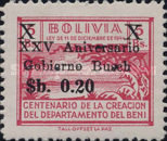 [The 25th Anniversary of the Busch Government, Surcharged