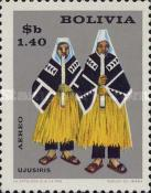 [Airmail - The 9th Congress of the UPAE, Postal union of the Americas and Spain, Bolivian Folklore, Typ MT]