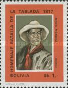 [Airmail - The 150th Anniversary of the Battle of the Tablada, 1817, Typ MZ]