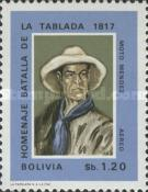 [Airmail - The 150th Anniversary of the Battle of the Tablada, 1817, Typ MZ1]