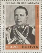 [The 400th Anniversary of the Cochabamba, President G. Villarroel, Typ NA]