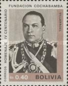 [The 400th Anniversary of the Cochabamba, President G. Villarroel, Typ NA2]