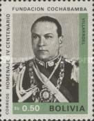 [The 400th Anniversary of the Cochabamba, President G. Villarroel, Typ NA3]