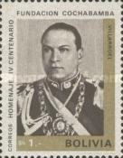[The 400th Anniversary of the Cochabamba, President G. Villarroel, Typ NA4]