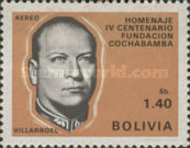 [Airmail - The 400th Anniversary of the Cochabamba, President G. Villarroel, Typ NB]