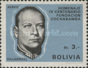 [Airmail - The 400th Anniversary of the Cochabamba, President G. Villarroel, Typ NB1]