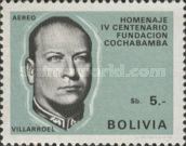 [Airmail - The 400th Anniversary of the Cochabamba, President G. Villarroel, Typ NB3]
