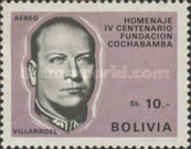 [Airmail - The 400th Anniversary of the Cochabamba, President G. Villarroel, Typ NB4]
