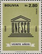 [The 20th Anniversary of the UNESCO, 1966, Typ ND1]
